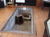 The baptistry, open for Heritage Weekend