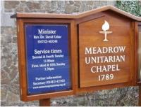 Meadrow Chapel Noticeboard